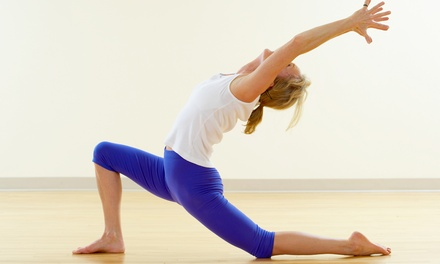 One, Two, or Three Months of Unlimited Yoga Classes at Yogini's (Up to 89% Off)
