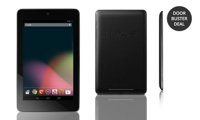"Google Nexus 7 16GB or 32GB 7"" Tablet by ASUS: Google Nexus 7 16GB or 32GB 7"" Android Tablet by ASUS from $119.99–$149.99. Free Returns."