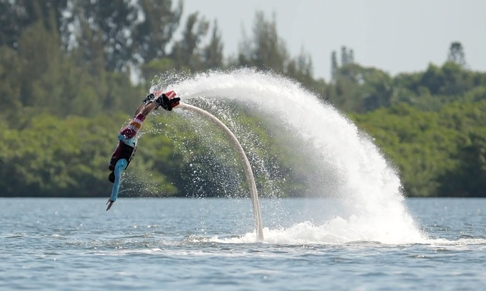 Top Gun Flyboards - Bradenton: Flyboarding Sessions for One, Two, or Up to Six People from Top Gun Flyboards (Up to 55% Off)