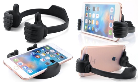 Thumbs-Up Mobile Phone Holder