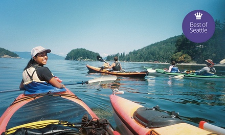 Redmond to Redhook Kayak Tour or Lopez Island Kayak Tour for One or Two from Outdoor Adventure Center (51% Off)