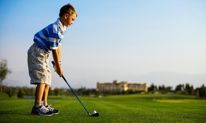 TGA Premier Junior Golf - West London: Kids' Camp at TGA Premier Junior Golf (50% Off). Two Options Available.