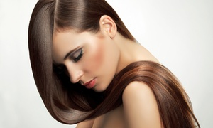 Tiffany at My Salon Suite: One or Two Keratin Hair-Straightening Treatments at Tiffany at My Salon Suite (60% Off)