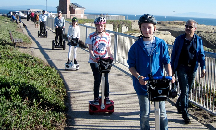 Segway Santa Cruz Lighthouse & Wharf Tour - Segway Santa Cruz: $39 for a Lighthouse and Wharf Tour from Segway Santa Cruz ($69 Value)