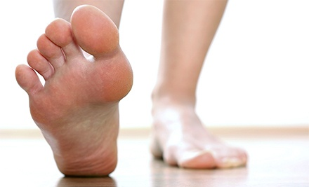 Laser Nail-Fungus Treatments for One Toe, or One or Both Feet at Shin Foot and Ankle Specialists (Up to 60% Off)