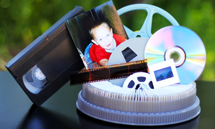Legacy Media - Henderson: $40 for $100 Worth of Photo, Video and Film Digital-Transfer Services at Legacy Media