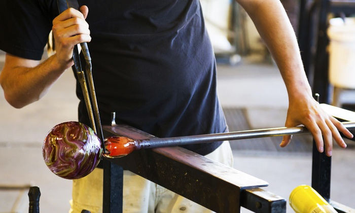 Craft Advisory - Central Falls: Two-Hour Glass-Blowing Class at craft advisory (50% Off)
