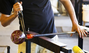 Craft Advisory: Two-Hour Glass-Blowing Class at craft advisory (50% Off)