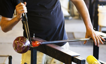 Two-Hour Glass-Blowing Class at craft advisory (50% Off)
