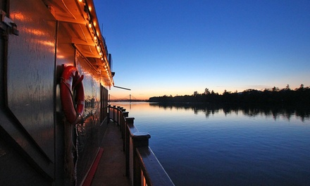 Pub Nights on the Fraser Friday Night Cruise at Paddlewheeler Riverboat Cruises (Up to 53% Off)