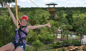 Gatorland: Zip Line Ride and Gatorland Visit for One, Two, or Four (Up to 43% Off)
