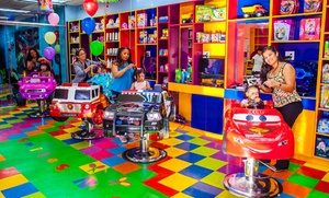 Smiles N Styles: One or Three Children's Haircuts from Specialized Kids Only Hair Salon Smiles N Styles (56% Off)