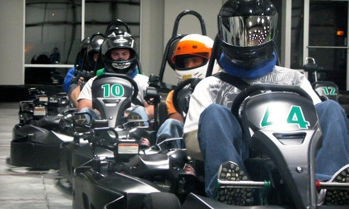 Bluegrass Indoor Karting - East Louisville: Two Races for One or Two at Bluegrass Indoor Karting (Up to 44% Off)