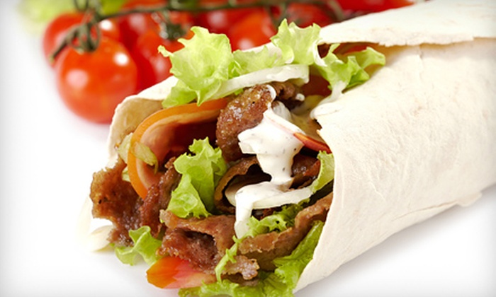Couscous Gyro Kebab - Northland: $12.99 for Two Entrees or Weekend Buffets at Couscous Gyro Kebab (Up to $25.98 Value)