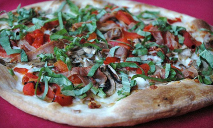 Amante Gourmet Pizza - North Raleigh: $10 for $20 Worth of Pizza, Pasta, and Sandwiches Sunday–Thursday or Friday–Saturday at Amante Gourmet Pizza