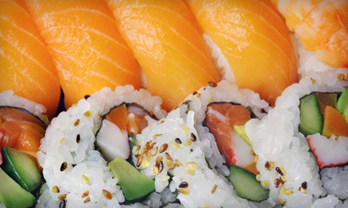 Sushi Lover - Pinellas Park: $12 for $25 Worth of Sushi and Drinks for Two or More at Sushi Lover