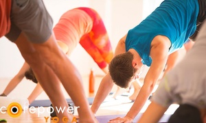 CorePower Yoga: $75 for One Month of Unlimited Yoga Classes at CorePower Yoga ($205 Value)