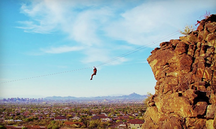 Rappel AZ - Fountain Hills: $149 for a Four-Hour Sonoran Wonder Package with Rappelling and Climbing at Rappel AZ in Fountain Hills ($300 Value)