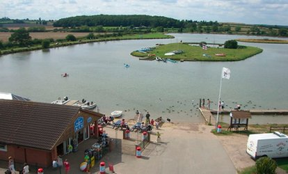 image for Family Outing With Crazy Golf and Snacks for £13 at Bosworth Water Park (57% Off)
