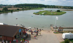 Bosworth Water Park: Family Outing With Crazy Golf and Snacks for £13 at Bosworth Water Park (57% Off)