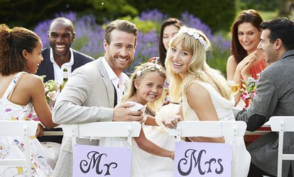 image for Wedding Package For 50 Day Guests and 75 Evening Guests at Maes Manor (Up to 51% Off)