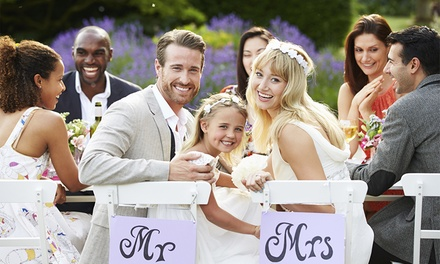 Wedding Package for 50 Day Guests at Stratton House Hotel (Up to 37% Off)