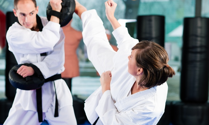Maumee Valley Martial Arts - Reynolds Corners: One Month of Unlimited or Twice-Weekly Krav Maga or Kickboxingat Maumee Valley Martial Arts (Up to 72% Off )