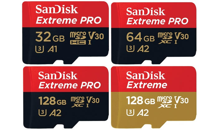 Sandisk Extreme 128gb Microsd Uhs I Card With Adapter 160mb S