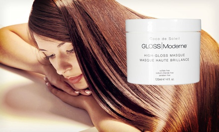 GLOSS Moderne High-Gloss Hair Masque.
