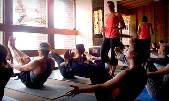 The Yoga Underground - Central Business District: 10 Classes or One Month of Unlimited Classes at The Yoga Underground in Provo (Up to 61% Off)