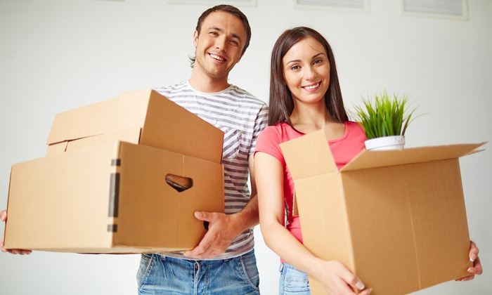 Student Movers - Inland Empire: Moving Services with Two Movers and Optional Truck from Student Movers (57% Off)