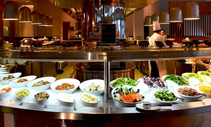Dinner Buffet With Soft Drinks For Two, Four, Six or Ten from AED 149 at Dine, Aloft Abu Dhabi (Up to 57% Off)
