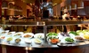 Dine-Aloft Hotel - Abu Dhabi: Dinner Buffet With Soft Drinks For Two, Four, Six or Ten from AED 149 at Dine, Aloft Abu Dhabi (Up to 57% Off)