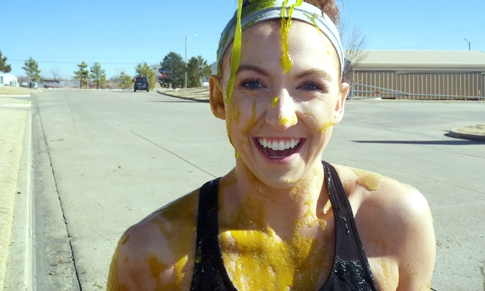 The Goo Run - Lubbock: The Goo Run 5K Registration and T-shirts for One, Two, or Four on Saturday, September 20 (Up to 54% Off)
