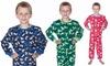 FreshLook 100% Cotton-Flannel Boy's Pajamas 2-Piece Set: FreshLook 100% Cotton-Flannel Boy's Pajamas 2-Piece Set