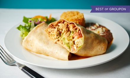Mexican Food for Dine-In or Takeout at Luchita's (Up to 50% Off). Three Options Available.