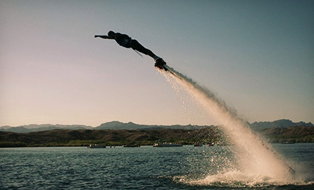 20-Minute Flyboard Flight for One or Two at Aquaflyboarding USA (Up to 60% Off)