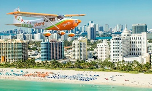 Miami Plane Tours: Aerial Tour for Two or Three from Miami Plane Tours(Up to 59% Off)