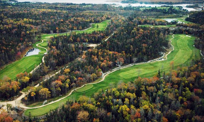River Hills Golf & Country Club - Clyde River: 18-Hole Round of Golf for Two or Four with Pull-Carts at River Hills Golf & Country Club (Up to 50% Off)