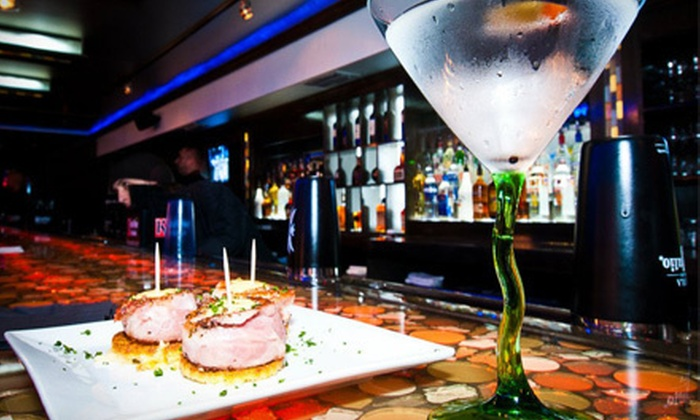 The Manhattan Dolce Bar & Bistro - Virginia Park: $15 for $30 Worth of Tapas Dishes and Drinks at The Manhattan Dolce Bar & Bistro