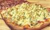 Pizza al metro para 2 o 4 con entrante, postre y botella de vino