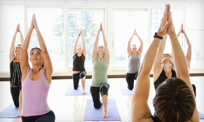 Pranavah Yoga Studio - Hunters Point: 5 or 10 Yoga Classes at Pranavah Yoga Studio (Up to 68% Off)