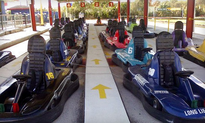 Grand Prix Tampa - University: $24 for Daytime or Evening Family Fun at Grand Prix Tampa ($49.99 Value)