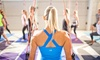 Boogie Down - Burlington: Five Barre or FLXyoga Classes or One Month of Unlimited Barre or FLXyoga Classes at Boogie Down (Up to 65% Off)
