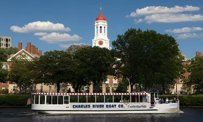 Charles Riverboat Company  - Cambridge: Charles River Tour or Sunset Cruise for One or Two from Charles Riverboat Company (Up to 41% Off)