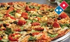 Domino's Pizza - Multiple Locations: Party Package or One or Two Large Pizzas and Sides from Domino's Pizza (Up to 59% Off)