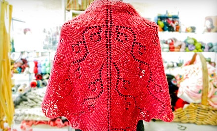 Two Beginning Knitting Classes for One or Two at Kirkwood Knittery (Up to 57% Off)