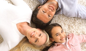 Carpet Boss Restoration: Deep Carpet Cleaning for Two Rooms or the Whole House from Carpet Boss Restoration (Up to 61% Off)
