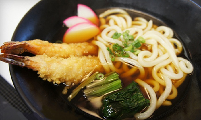Udon Kaisha - Whistlepig: Japanese Cuisine and Sushi for Two or Four at Udon Kaisha (Half Off)
