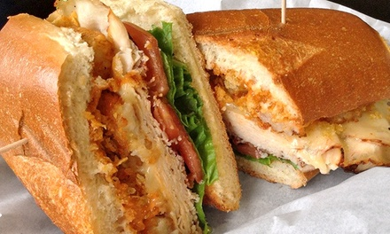 $12 for $20 Worth of Lunch or Dinner for Two or More at The Ace of Sandwiches